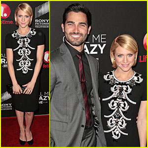 Brittany Snow & Tyler Hoechlin: 'Call Me Crazy' Premiere Couple!