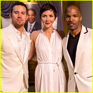 Channing Tatum & Jamie Foxx: 'White House Down' Mexico Photo Call