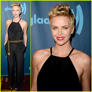 Charlize Theron - GLAAD Media Awards 2013 Red Carpet
