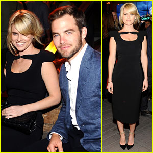 Chris Pine & Alice Eve: 'Star Trek' at Coach's Charity Event!