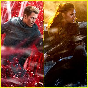 Chris Pine: New 'Star Trek Into Darkness' Trailer & Posters!