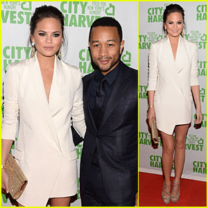 Chrissy Teigen & John Legend: City Harvest Couple!
