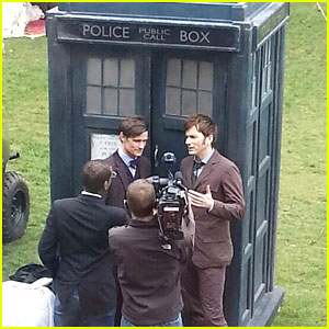 Matt Smith & David Tennant: Doctor Who's Unite!