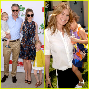 Ellen Pompeo & Eric Dane: Mother's Day Garden Party!