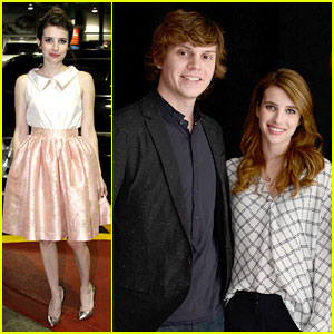Emma Roberts & Evan Peters: 'Adult World' Tribeca Portraits!