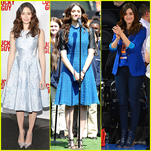 Emmy Rossum: 'Lucky Guy' Broadway Opening Night!