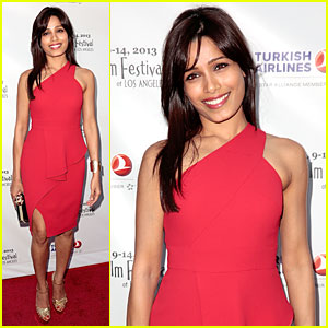 Freida Pinto: Indian Film Festival of Los Angeles Opening Night Gala!