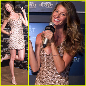 Gisele Bundchen: Pantene Expert Photo Call in Brazil!