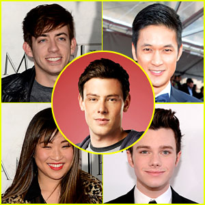 'Glee' Cast Tweets Support for Cory Monteith in Rehab