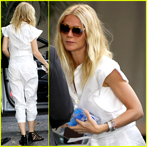 Gwyneth Paltrow: Chateau Visit Before Book Signing!