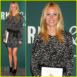 Gwyneth Paltrow: 'It's All Good' Book Signing!