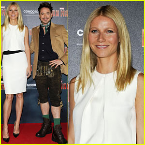 Gwyneth Paltrow & Robert Downey, Jr.: 'Iron Man 3' Germany Photo Call