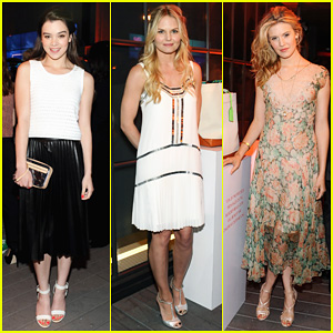 Hailee Steinfeld & Jennifer Morrison: Coach's Night of Shopping!