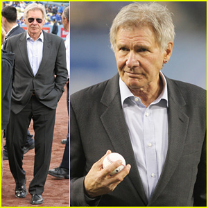 Harrison Ford: First Pitch for Jackie Robinson Day!