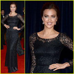 Irina Shayk - White House Correspondents' Dinner 2013 Red Carpet