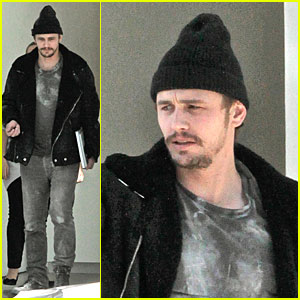 James Franco: Book Worm at Gagosian Gallery!