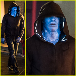 Jamie Foxx as Electro in 'Amazing Spider-Man 2' - First L