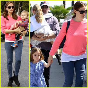 Jennifer Garner & Ben Affleck: 'Cavalia Odysseo' with the Kids!