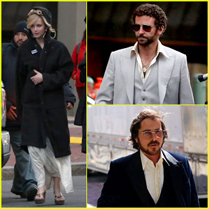 Jennifer Lawrence & Bradley Cooper: 'Abscam' Night Shoot!
