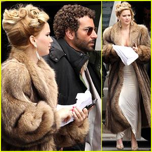 Jennifer Lawrence & Bradley Cooper Reunite for 'David O. Russell'
