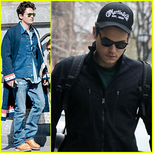 John Mayer: Gym Stop in NYC!