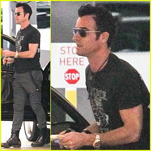 Justin Theroux & Jennifer Aniston: Bel Air Home Visit!