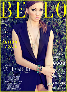Katie Cassidy Covers 'Bello' Magazine's Action Issue