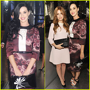 Katy Perry & Isla Fisher: Gatsby Opening Cocktail Party!
