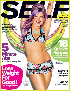 Kelly Osbourne Bares Bikini Body for 'Self' May 2013