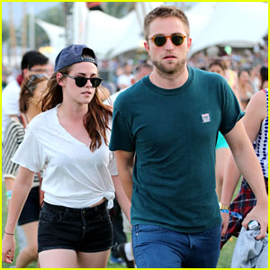 Kristen Stewart & Robert Pattinson: Holding Hands at Coachella Day 2!