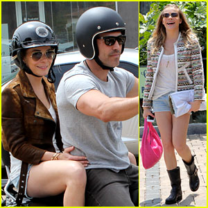 LeAnn Rimes Has 'Perfect Day' with Biker Boy Eddie Cibrian!