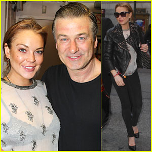 Lindsay Lohan: 'Orphans' Broadway Show with Alec Baldwin!