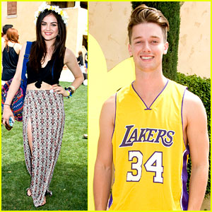 Lucy Hale & Patrick Schwarzenegger: Just Jared Music Festival Brunch!