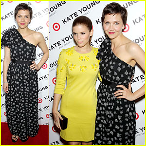 Maggie Gyllenhaal & Kate Mara: Kate Young For Target Launch!