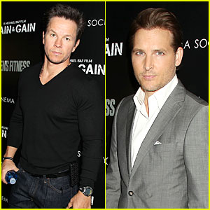 Mark Wahlberg & Peter Facinelli: 'Pain & Gain' NYC Screening!