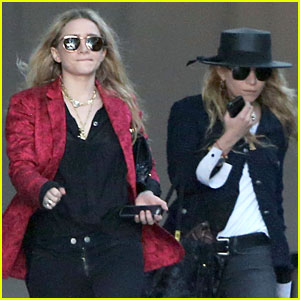 Mary-Kate & Ashley Olsen: Chateau Marmont Hotel Exit!