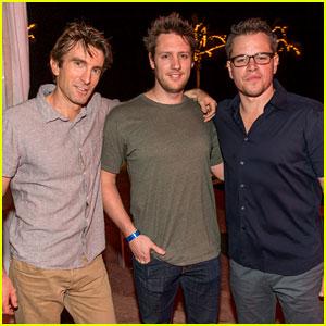 Matt Damon & Sharlto Copley: 'Elysium' at Summer of Sony!