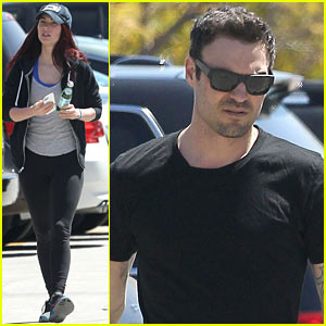 Megan Fox & Brian Austin Green: Sunday Lunch Lovebirds!