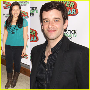 Michael Urie & America Ferrera: 'Buyer & Cellar' Opening Night!