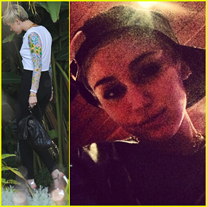 Miley Cyrus: Hollywood Studio Time!