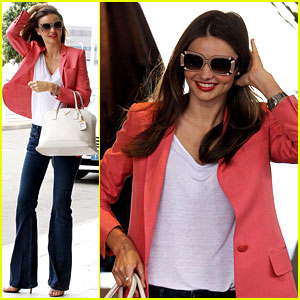 Miranda Kerr: 'Goodbye Australia, See You Soon!'