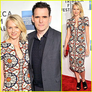 Naomi Watts & Matt Dillon: Sunlight Jr. Tribeca Premiere!
