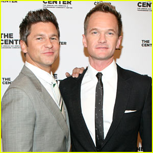 Neil Patrick Harris & David Burtka: The Center Dinner Gala!