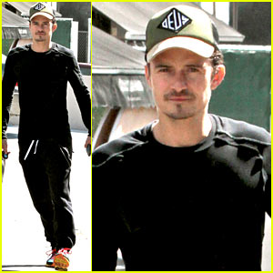 Orlando Blooms Steps Out Post-Miranda Kerr Victoria's Secret Rumors