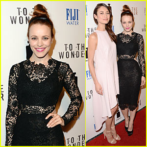 Rachel McAdams & Olga Kurylenko: 'To The Wonder' Premiere Beauties!
