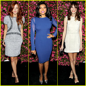 Riley Keough & Taraji P. Henson: Chanel's Tribeca Artists Dinner!