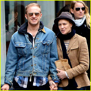 Robin Wright: Pre-Birthday Stroll with Ben Foster!