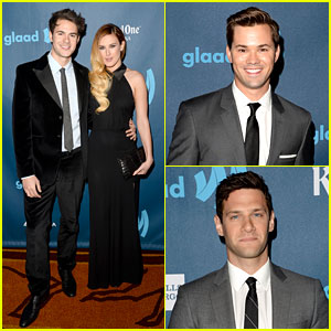 Rumer Willis & Jayson Blair - GLAAD Media Awards 2013