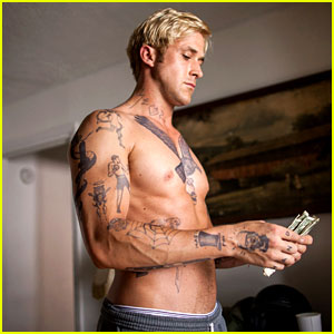 Ryan Gosling: Shirtless in 'Place Beyond the Pines' (Exclusive Still)