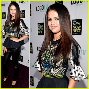 Selena Gomez: Logo's NewNowNext Awards Red Carpet!